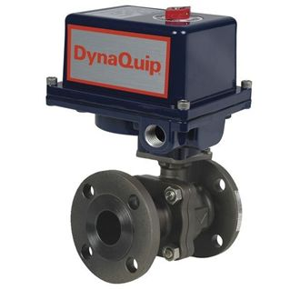 Picture for category EHC SERIES - 2PC Flanged Carbon Steel Ball Valve - Electric Actuator