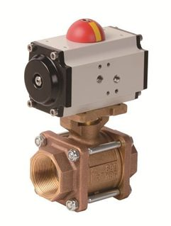 Picture for category Pneumatic Actuator with 3 PC Bronze Valve (PVA - AP Series)