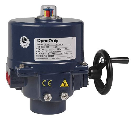 Picture of MA20D, Electric Actuator - MA Series - 795 - 30,975 in·lbs