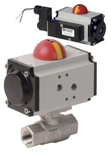 Picture for category Pneumatic Actuator with 2 PC Brass Valve (PHH - AP Series)