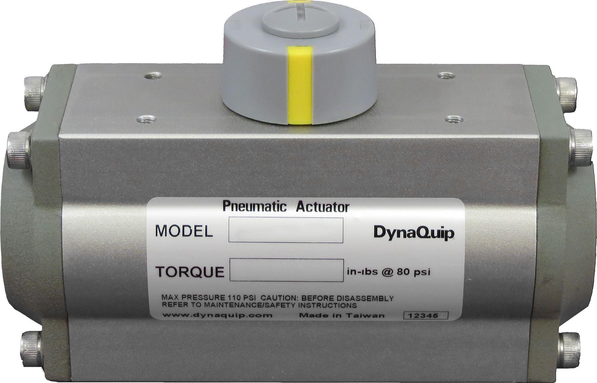 AHP063SR10, Pneumatic Actuator - HP Series - 0 - 83,462 in·lbs