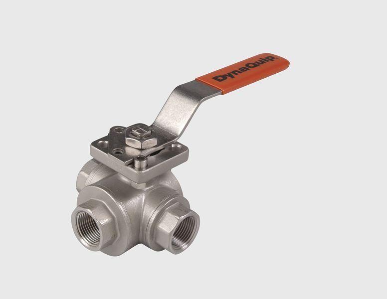 VYSA.AM 1/4, Stainless Steel 3-Way Valve - VYSA Series