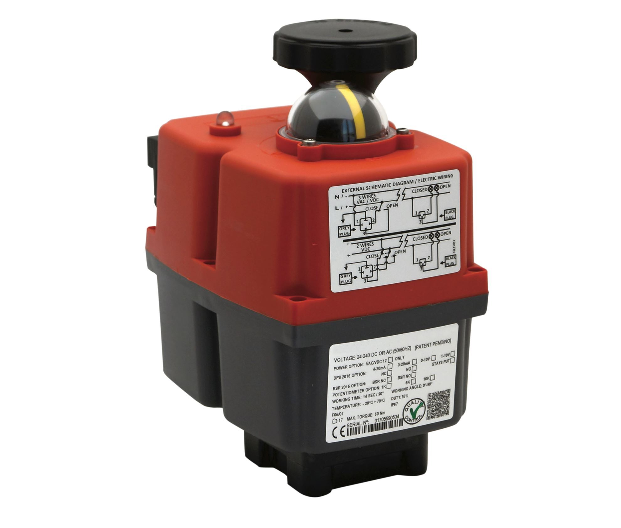 AJE30T, MULTI-VOLTAGE SMART ELECTRIC ACTUATORS - JE SERIES