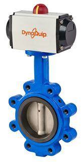 Picture for category DynaFly Series - Butterfly Valve with Pneumatic Actuator - 700/722 Series