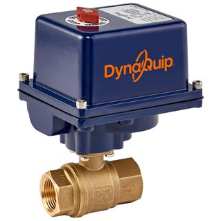 EHH SERIES - 2 PC Brass Ball Valve - Electric Actuator