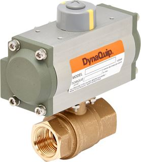 Pneumatic Actuated Lead-Free Ball Valve