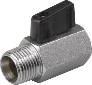Brass 1-Piece Mini Valve - VNH Series