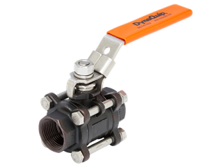 Carbon Steel 3-Piece Bolted In-Line Valve - V6C Series