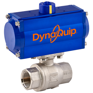 DynaMatic Series - Pneumatic Automated Ball Valve