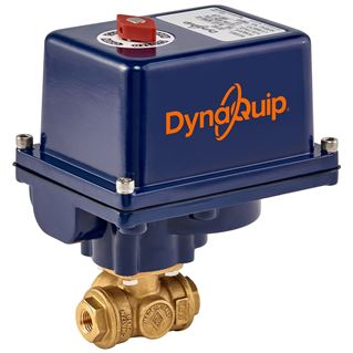 EYH SERIES - 3 WAY Brass Ball Valve - Electric Actuator