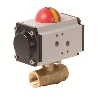 Pneumatic Actuator with 2 PC Lead Free Brass Valve (PHG - AP Series)