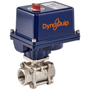 E3S SERIES - 3 PC Stainless Steel Ball Valve - Electric Actuator