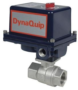 EHS SERIES - 2 PC Stainless Steel Ball Valve - Electric Actuator