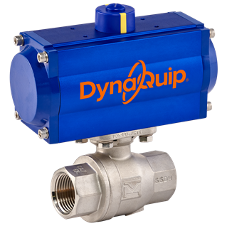 DynaMatic Series - Pneumatic Automated Ball Valve