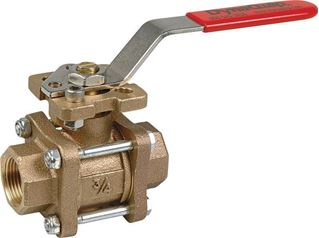 Bronze 3-Piece Bolted In-Line Valve - VVA Series