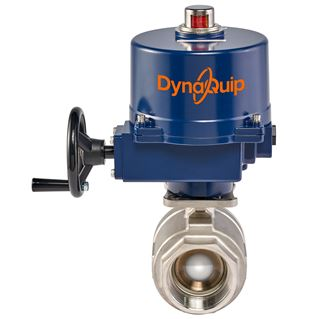 EAS SERIES - 2 PC High Pressure Stainless Steel Ball Valve - Electric Actuator